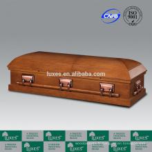 LUXES cercueil en bois Standard haute Style américain MDF cercueil