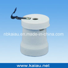 E27F519P Porcelain Lamp Holder