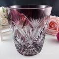 Clear Crystal Glass Cups