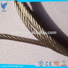 Cordes en acier inoxydable saoudien en arabie 304L en acier inoxydable