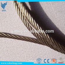 Saudi arabia 304L stainless steel Plastic coated wire rope