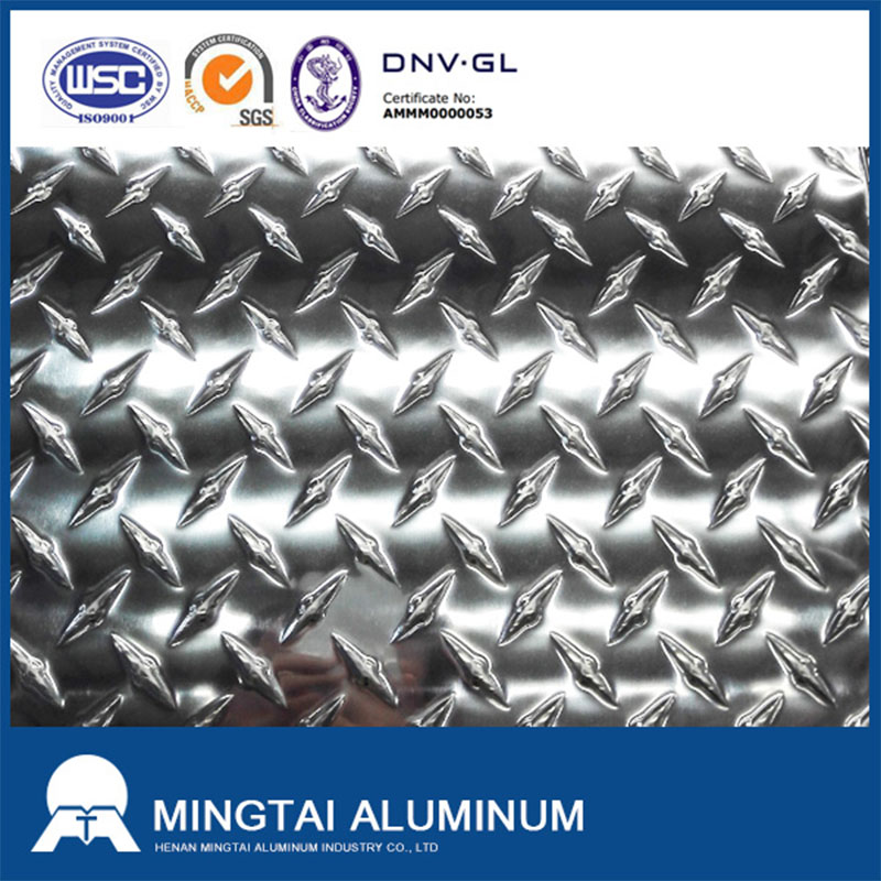 Diamond aluminum tread plate price