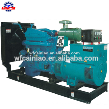 china manufacturer diesel engine with 50kw brushless ac alternator