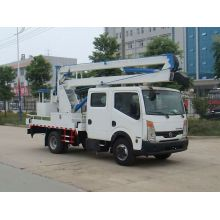 NISSAN 4X2 used hand platform trucks for sale