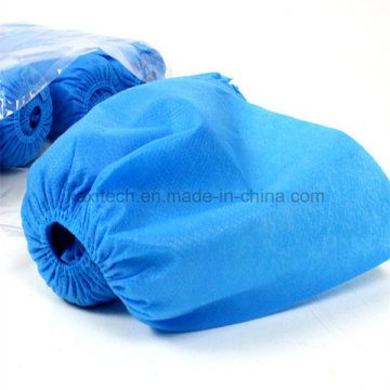 Environmental Shoe Cover Non-Woven PP Waterproof Anti-Skid Manufacturing Kxt-Sc40