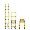 3.8m High Quality Super Light Folding Telescopic Insulated Fiberglass Ladder