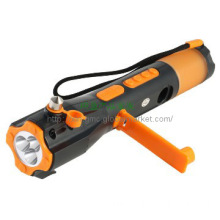 Portable led flashlight Car Kits light radio outdoor lighting