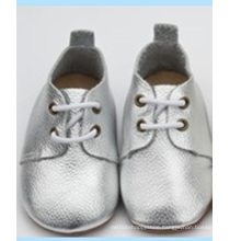 latest baby genuine leather soft sole casual prewalker oxford shoes