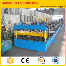 Metall-Dachbahn-Umformmaschine für gewellte / trapezförmige Platten