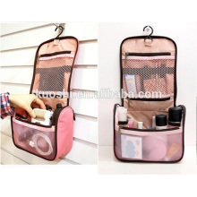 bolsa de cosméticos de pvc para viajar