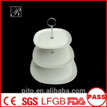 P&Tporcelain factory,porcelain high tea cake stands, wedding cake plates stands, round buffet stands
