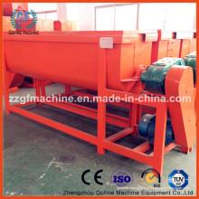 Misturador de fertilizante horizontal de aço inoxidável