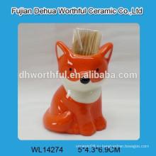 Горячий держатель зубочистки формы лисицы сбывания