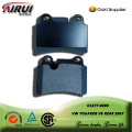 SEMI-METALLIC BRAKE PAD FOR VW TOUAREG V6 REAR 2007