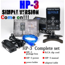 HP-3, Hurricane HP3 LCD Digital Tattoo Power Supply Touch Screen
