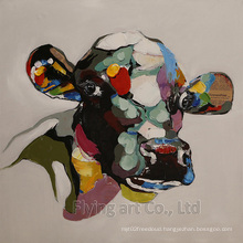 Aluminum Art Oil Paintings for Cows