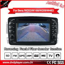 Vidéo de voiture pour Mercedes Benz Clk-C209 GPS Navigator