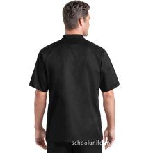 Customized Logo Cotton Cooking Clothes Chef Uniform