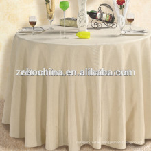 Hot Sale Factory Directly Made Polyester Wholesale 60 Round Table Cloth