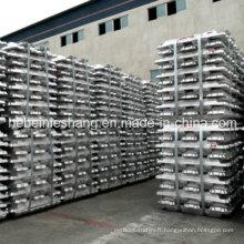 Lingot d'aluminium pur 99.7