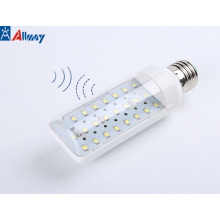 E27 B22 Motion Activated LED Corn Light Bulb