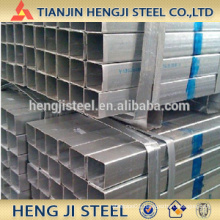 Square / Rectangle Galvanized Steel Tube Thickness 1.6mm