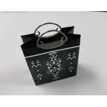 Paper Bag with Metal Handle