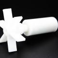 Rotor plástico do ímã da ferrite da injeção com impulsor de nylon