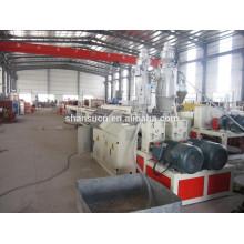 Ligne de production de machine d'extrusion de tuyau de PE de modèle de BXGE63