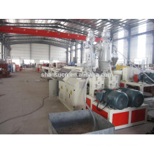 Model BXGE63 PE Pipe extrusion machine production line