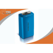 9v Primary Lithium Li-mn Battery 600mah For Security Devices 26.5 X 48.5mm