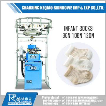 Europe style for Single Cylinder  Knitting Machine Little Infant Plain Sock Knitting Machine Price export to Yemen Factories