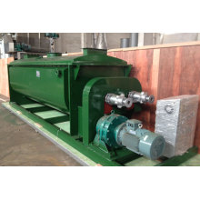 Horizontal sewage sludge dryer