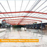China Famous Factory Tianrui Design Morden Chicken Farm