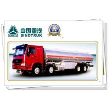 Caminhão de tanque do óleo de 380HP Sinotruk HOWO 8X4 com o reboque 33m3 do petroleiro de óleo