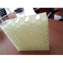 Panneaux en nid d'abeilles en fibre de verre 25mm