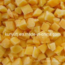 Pêssego amarelo congelado corta com alta qualidade