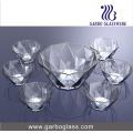 7PCS Salad Bowl Set Glassware (TZ7-GB16040)