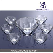Cristalería determinada del cuenco de la ensalada 7PCS (TZ7-GB16040)