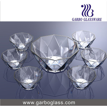 7PCS Salad Bowl Set Glassware (TZ7-GB16040)