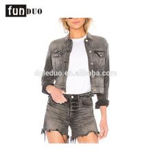 последний женщин джинсовые куртки мода джинсы пальто одежды