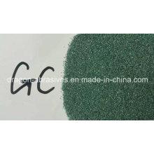 Carburo de silicio verde para rectificar ruedas, refractario y cerámica