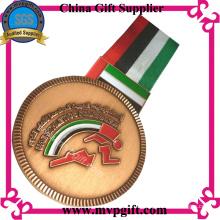 Besetzte Medaille mit Kunden 3D Logo Gravur