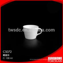 xícara de café para exportação de dobramento atacado