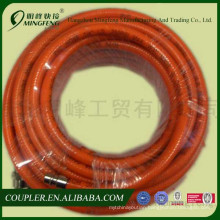 Air hoses coupler types pvc pipe hot sale