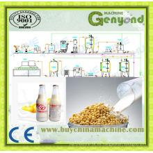 Línea de procesamiento de leche de soya y máquina de leche de soja