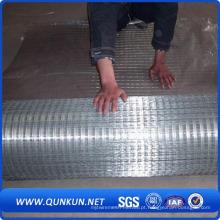 Malha de arame soldada galvanizada para construção (WWM)