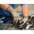 Coton et Spandex travail gant Sandy Nitrile plongeant (N1585)