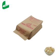 Wholesale custom design logo biodegradable microwave popcorn bags