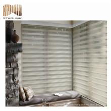 Meilleur prix dentelle plissée fenêtre rouleau store tissu pour la maison